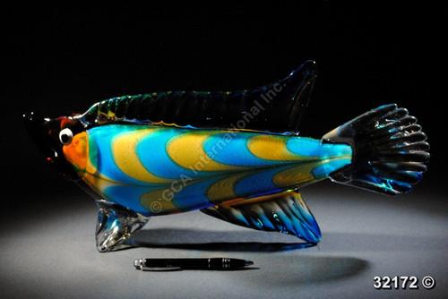 "[32172] 19"" glass fish"