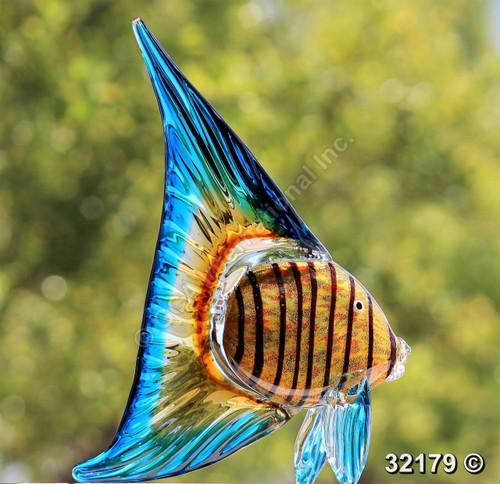 "[32179] 14"" glass fish"