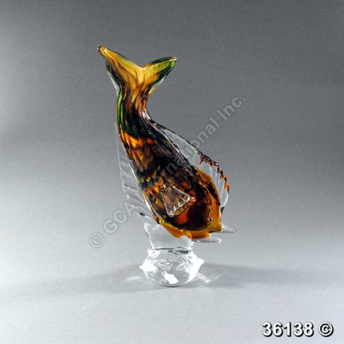 "[36138] 14"" glass fish"