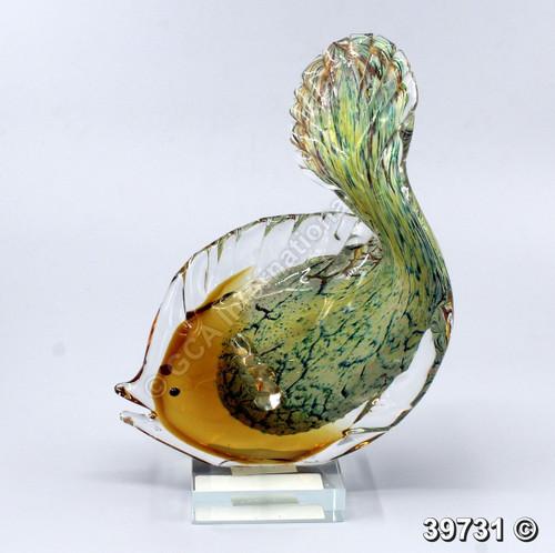 "[39731] 9.5"" glass fish"