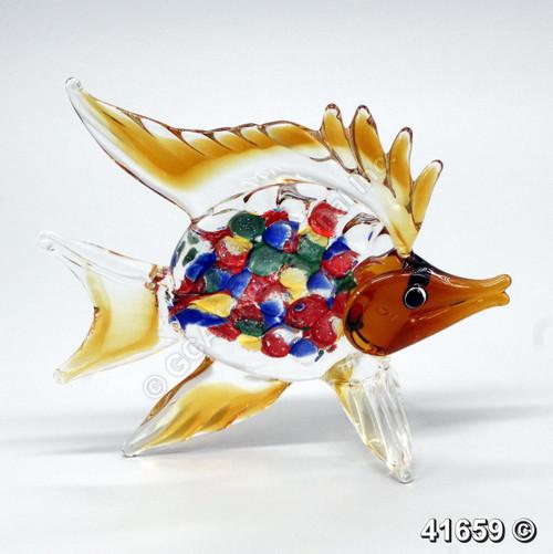 "[41659] 9"" glass fish"