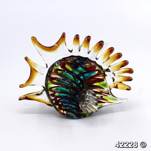 """[42228] 6.5x2.4x5.8"""" glass fish"""