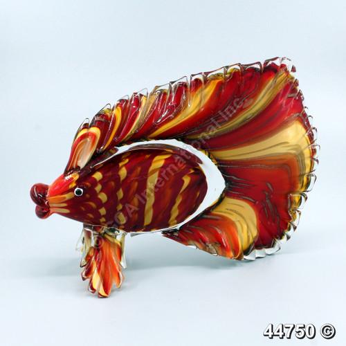 [44750] 13X4.25X9.75 glass fish