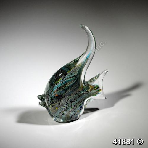 "[41881] 9"" glass angel fish"