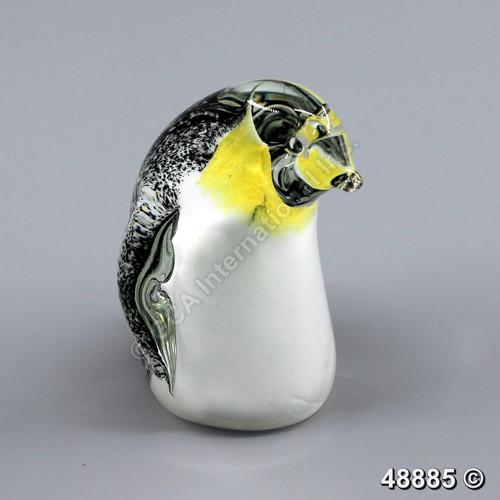"""[48885] 3.75"""" glass penguin"""