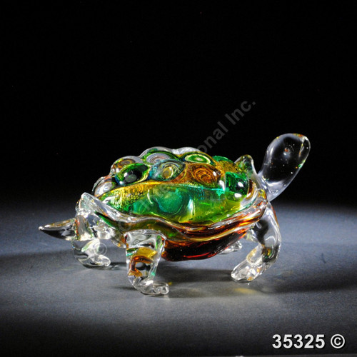 "[35325] 10.5"" glass tortoise"
