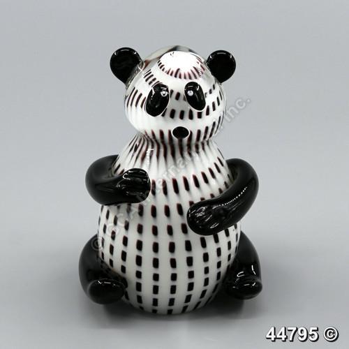 """[44795] 6"""" glass panda"""