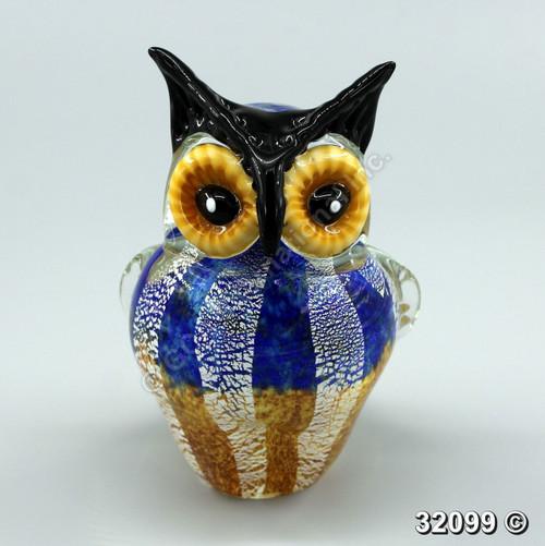 """[32099] 8"""" glass owl"""