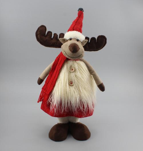 """[51215] 15""""Standing reindeer girl"""