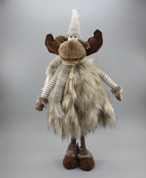 "[51415] 28""Standing moose"