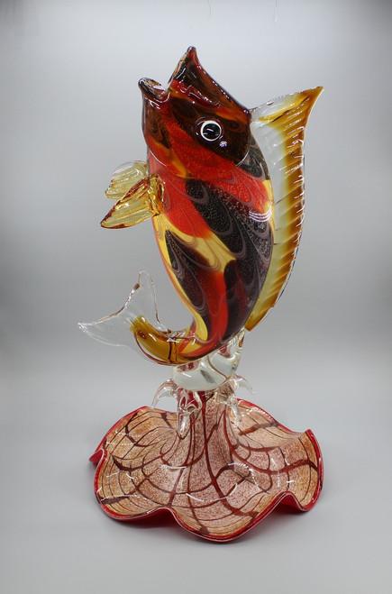 "[00642] 27.6""glass fish"