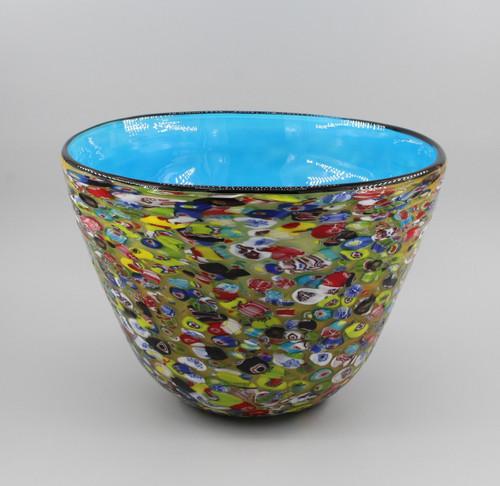 """[00648] 12.4"""" glass vase"""