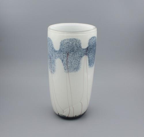 """[00665] 13.4"""" glass vase"""
