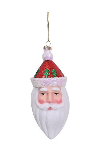 "Ship ASAP [43708] 2""x3""x4.5""plastic santa ornament"