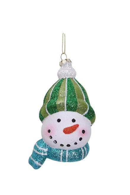 """[43709] 2""""x3""""x9.8""""plastic snowman ornament"""