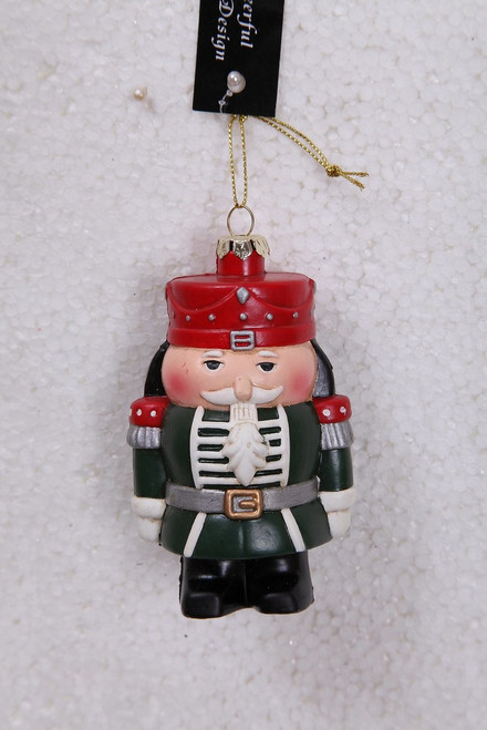 "Ship ASAP [43716] 2""x3""x4.5""plastic soldier ornament"