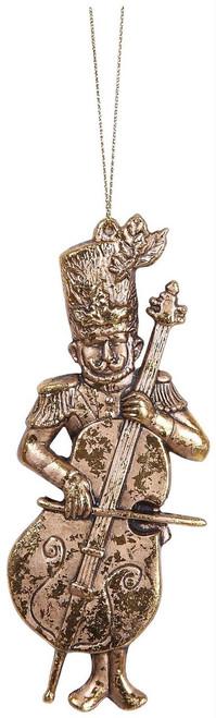 """Ship ASAP [45551] 5"""" plastic musician ornament"""
