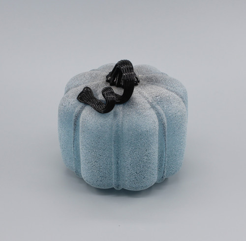 "[48560] 7"" glass pumpkin"