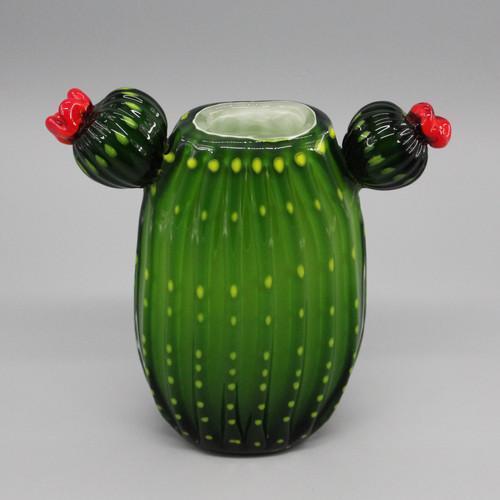"""[48858] 9"""" glass cactus"""