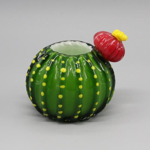 """[48861] 5.5"""" glass cactus"""