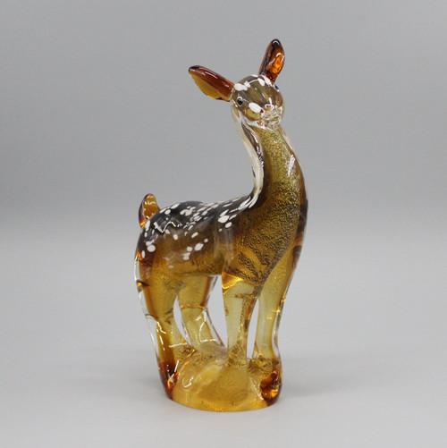 """[51634] 11.4"""" glass deer"""