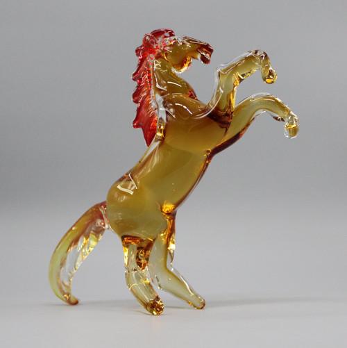 "[51638] 9.8"" glass horse"