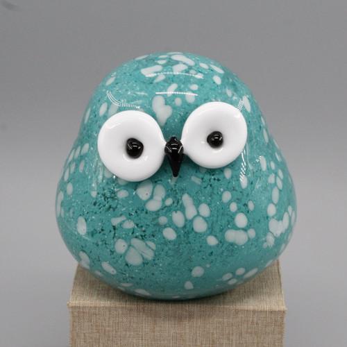 """[51640] 5.9"""" glass owl"""