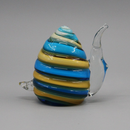 "[51853] 4.1"" glass snail"