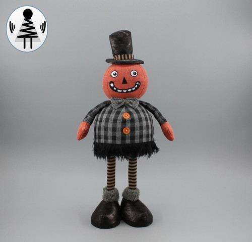 "[52822] 18""Halloween standing pumpkin man (shaking body)"