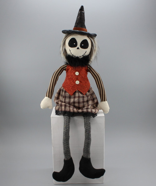 "[52825] 24""Halloween sitting ghost (girl)"