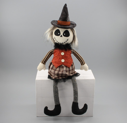 "[52830] 17""Halloween sitting ghost (girl)"