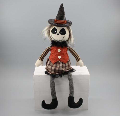"[52830] 17""Halloween sitting ghost (girl)"