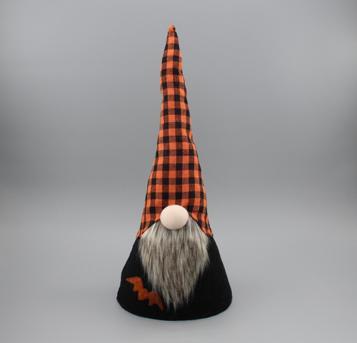 "[52831] 17""Halloween gnome decoration"