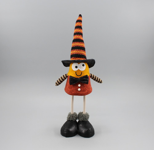 "[52833] 11""Halloween standing witch"