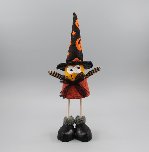 "[52834] 11""Halloween standing witch"