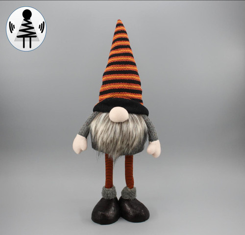 "[52836] 19""Hallow standing gnome"