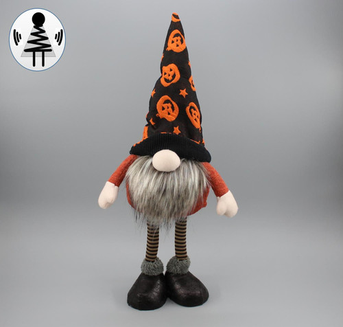"[52837] 19""Hallow standing gnome"