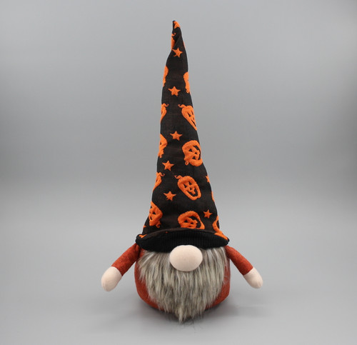 "[52843] 13""Halloween gnome head"