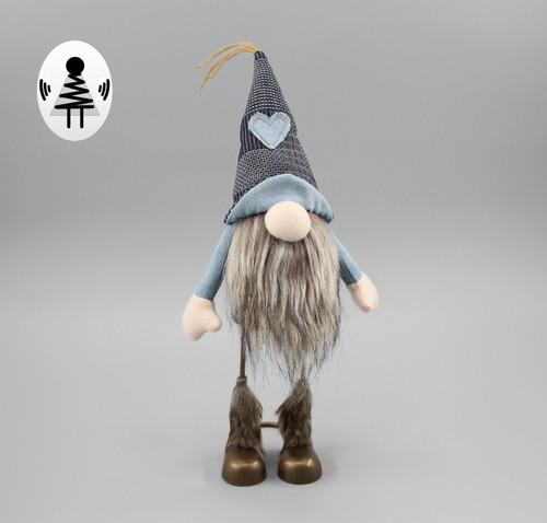 """[52858] 12""""standing Christmas gnome"""