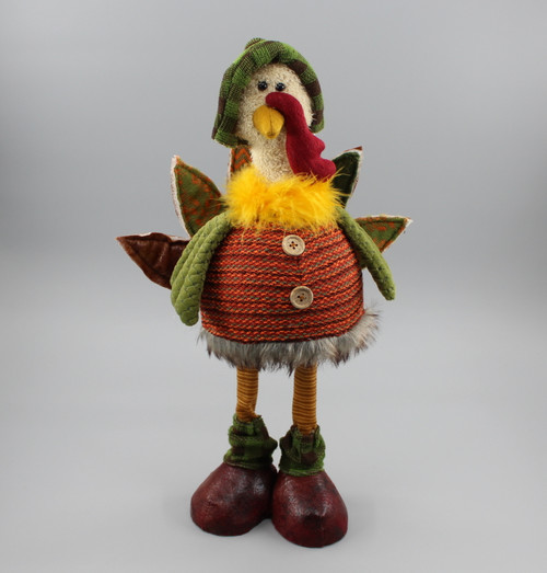 "[52867] 18""Standing turkey girl (shaking body)"
