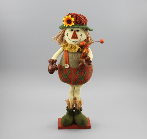 "[52877] 18""Standing scarecrow girl"
