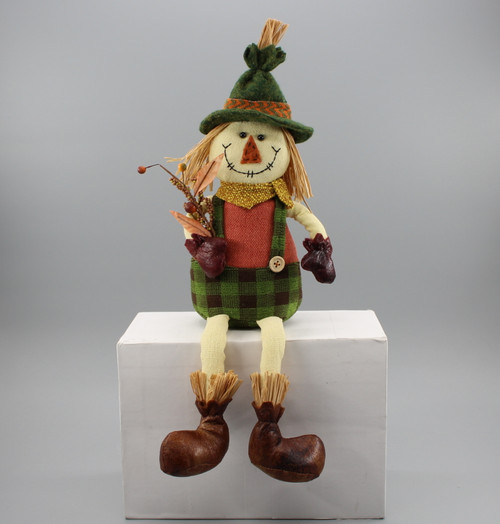 "[52878] 16""Sitting scarecrow boy"