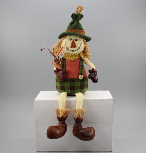 "[52878] 16""Sitting scarecrow boy"