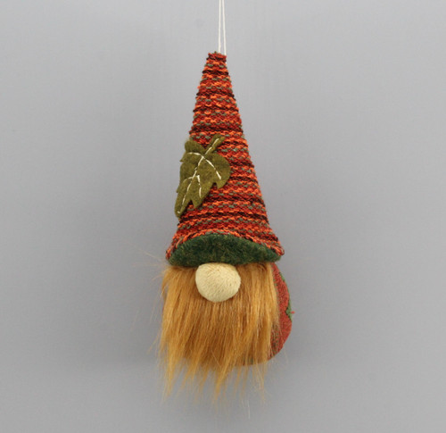 "[52886] 6""Harvest gnome ornament"