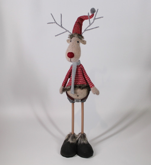 "[52903] 36""Standing Christmas reindeer"
