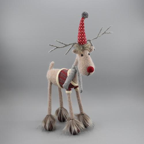 """[52907] 17""""Standing reindeer"""