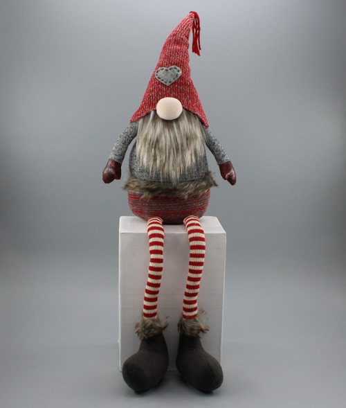 "[52913] 28""Sitting Christmas gnome boy"