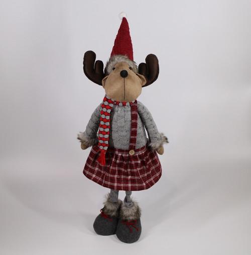 "[52938] 28""Standing moose girl"