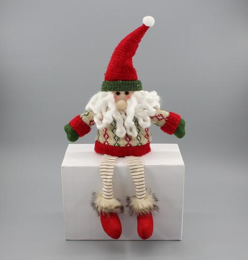 """[52953] 15.75""""Sitting Santa"""