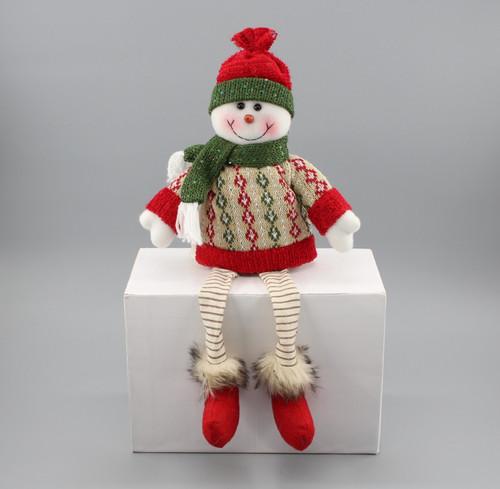 "[52954] 15.75""Sitting snowman"